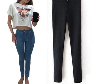 Hot Selling High Waist Jeans Woman Skinny Jeans Femme Stretch Ladies Jeans Slim Lift Hip Denim Pants Trousers For Women-rodewe