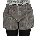 2018 New Female New Autumn Winter Shorts Plaid Thick Woolen Women Slim Thin Short Pants Designer Plus Size Loose Cotton Shorts-rodewe