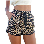 YRRETY Summer Leopard Shorts Fashion Casual Women Shorts High Waist Stretchy Minishort 1pcs/lot S-XXL Plus Size Hot Sale 2018-rodewe