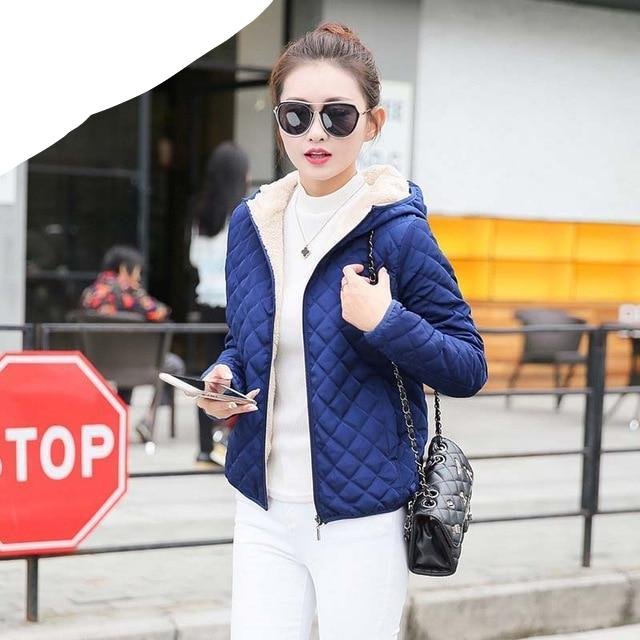 2018 new winter woman lady sweet new year soft casual solid multicolor all match fashion light warm coat outwear parkas woman-rodewe