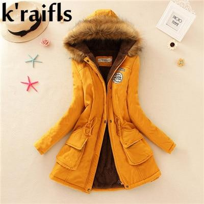New Long Parkas Female Womens Winter Jacket Coat Thick Cotton Warm Jacket Womens Outwear Parkas Plus Size Fur Coat 2018-rodewe