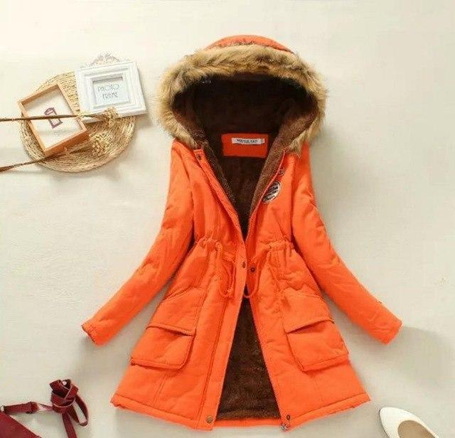 2018 New Parkas coat Female Women Winter Coat Thickening Cotton Winter Jacket Womens Outwear Parkas for Women Winter jacket 999-rodewe