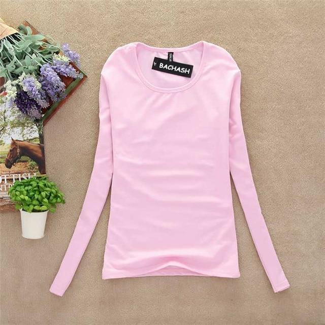 BACHASH New 2018 Fashion Export Brand Women Cashmere Sweater Solid Long Sleeve Slim Women Knitted Wool Sweater Pullovers Spring-rodewe