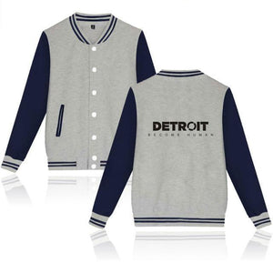 LUCKYFRIDAYF Detroit Become Human Baseball Jackets Game Collage Style Long Sleeve Baseball Jackets Men/Women Clothes Plus Size-rodewe