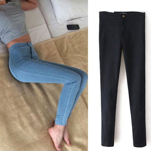 Hot Sale Push Up Jeans Woman Pencil Pants Vintage High Waist Jeans Women Casual Stretch Skinny Jeans Femme-rodewe