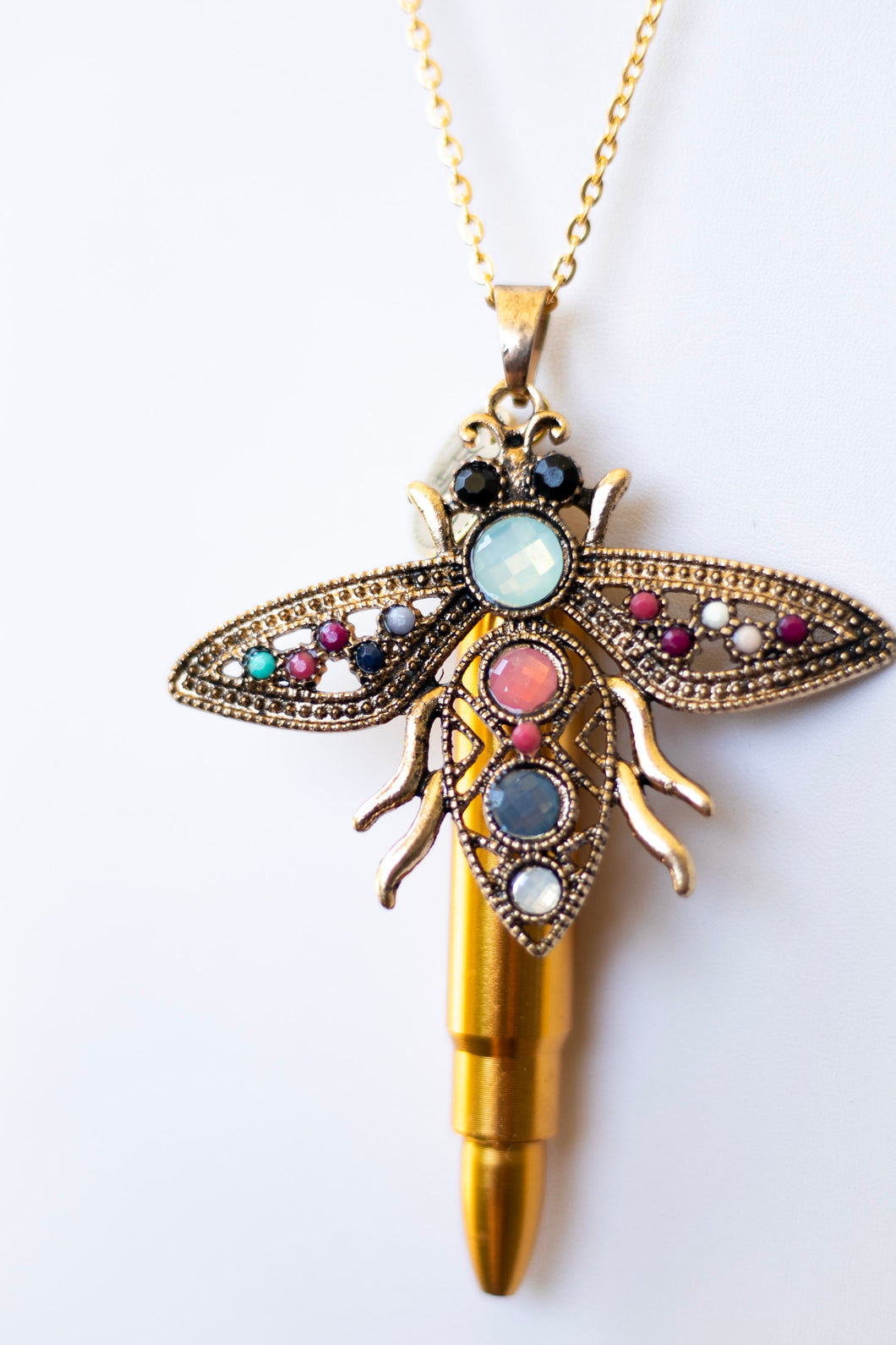 The Spanish Bee Necklace