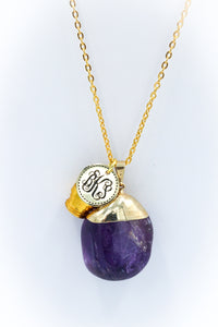 The *NEW* Amethyst Necklace