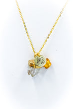 Load image into Gallery viewer, The Crystal Quartz Necklace