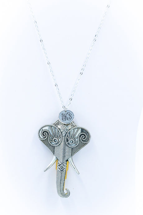 The Spanish Elephant Necklace