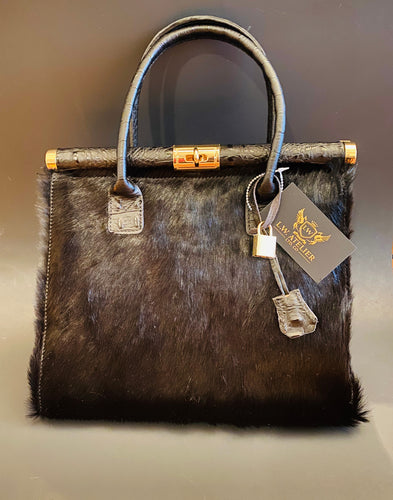L.W. Atelier Empress Fur Bag