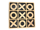 Rustic Tic-Tac-Toe Set