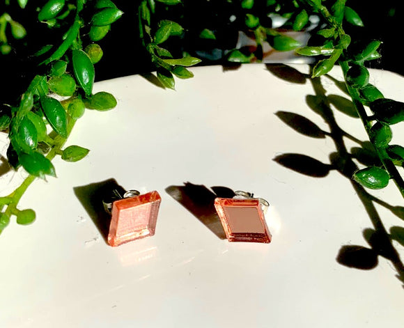 Rose Gold -Shine Bright Like a Diamond  Earring