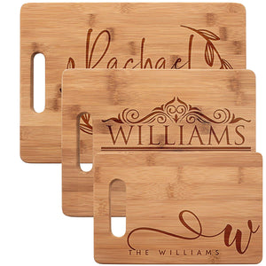 Personalized Serving Board ~Cutting Board
