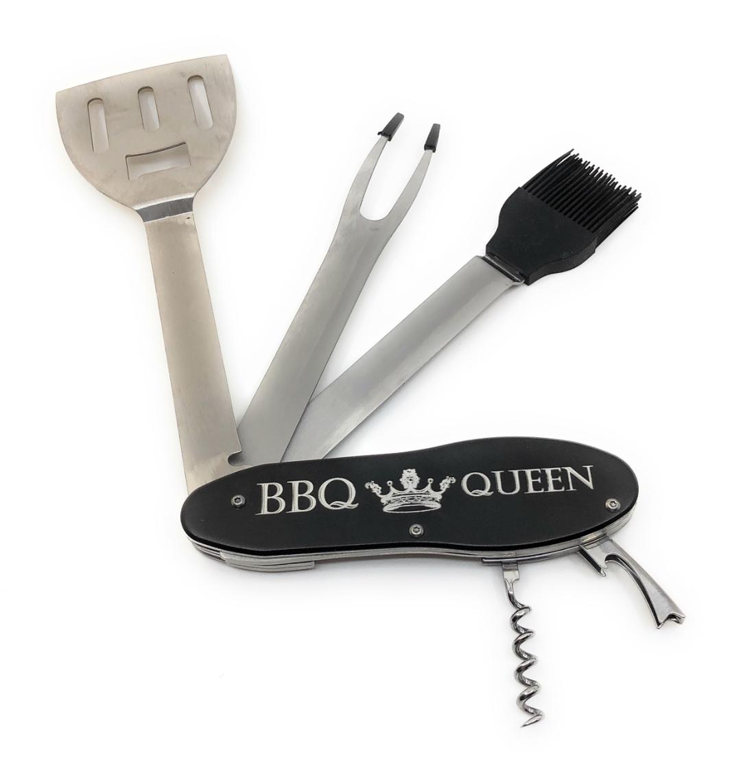 Personalised Barbeque BBQ Tool Set Fathers Day DAD Him Husband Birthday Gift