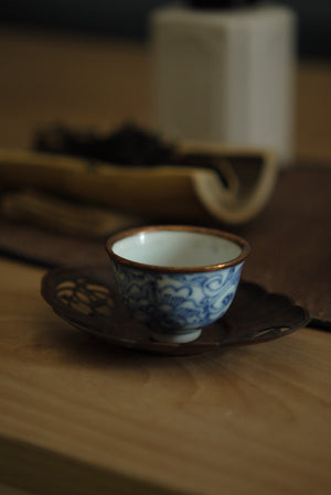 Ancient Lovely Wabisabi Style China Teochow Gongfu Teacup|Best Ceramics