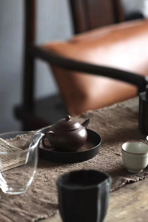 Handmade of Vintage Gongfu Tea Tray With Bamboo And Tin|Best Ceramics