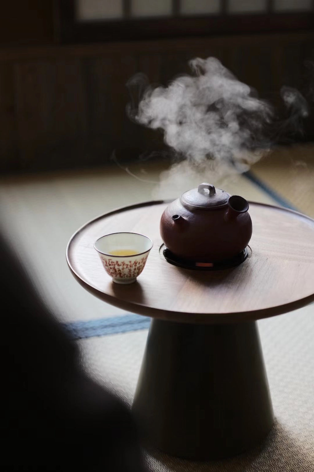 Lovely Chinese Handmade Mini Gongfu Tea-Table With Stove|Best Ceramics
