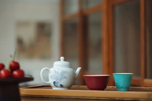 Handmade Vintage Style Chinese Painting Gongfu Teapot Set|Best Ceramics