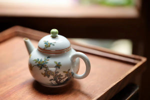 Chinese Hand Painting Vintage Chaozhou Tea Gongfu Teapot|Best Ceramics