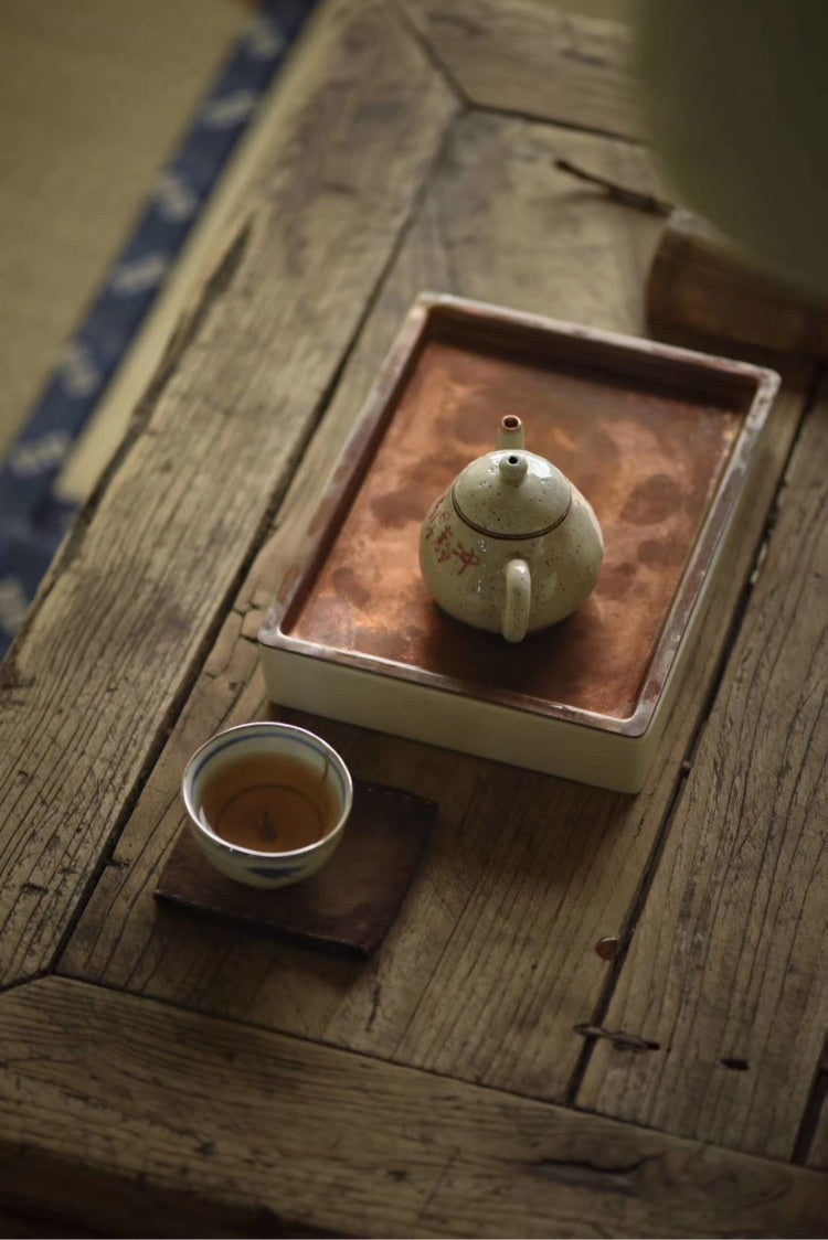 Chinese Handmade Chaozhou Style Gongfu Square Tea Boat|Best Ceramics