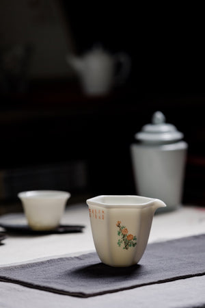 Fair Cup With Chinese Antique Style Hand Painted Picture|Best Ceramics