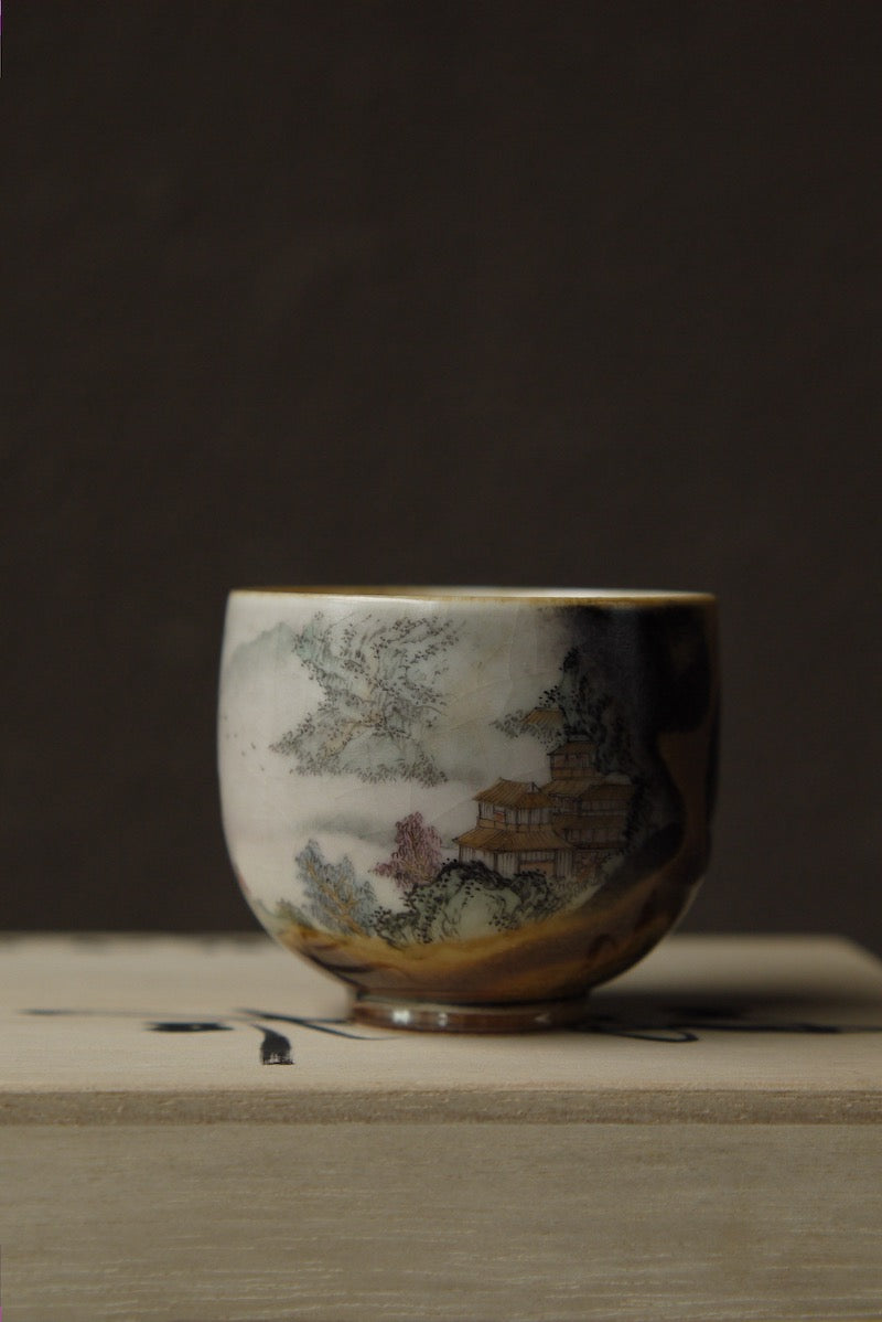 Hand-painted Wood-firing Ceramic Vintage Kungfu Teacup|Best Ceramics