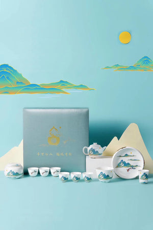 Mountain Theme Tea Sets