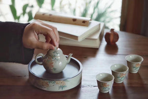 Chinese Painting Handmade Vintage Glaze Oolong Teacups|Best Ceramics