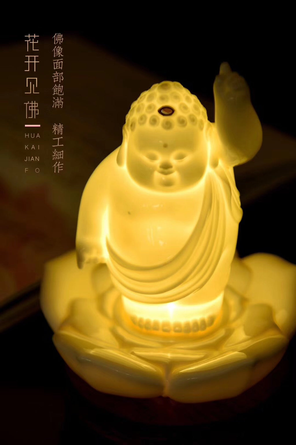 Buddha Mini Night-Light Best ceramics