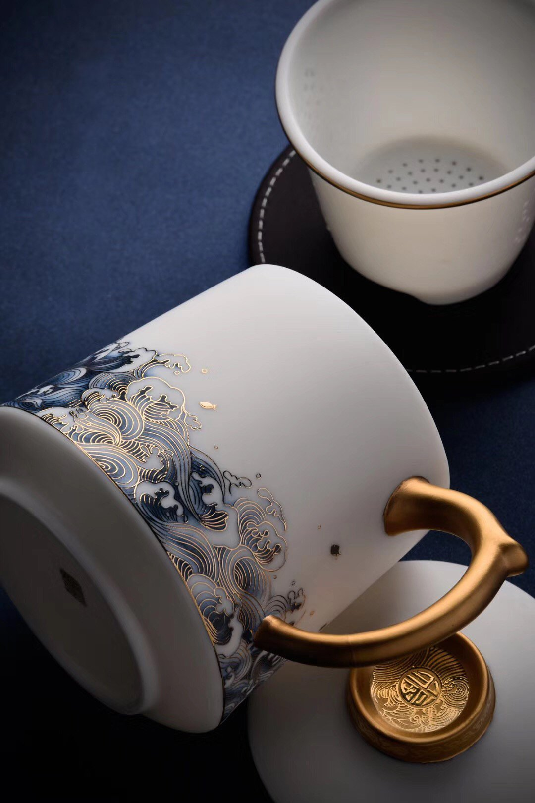 Blanc De Chine Teacup Coffee-Cup Handcrafted Porcelain|Best Ceramics
