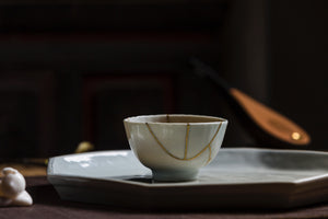 Kintsugi Art Teacup Golden Repaired Antique Gongfu Tea|Best Ceramics