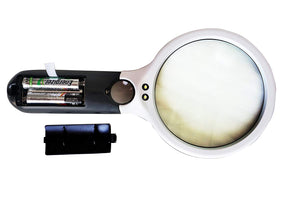 iMagniphy 3X + 15X LED Magnifying Glass Lens + Jewelry Loupe