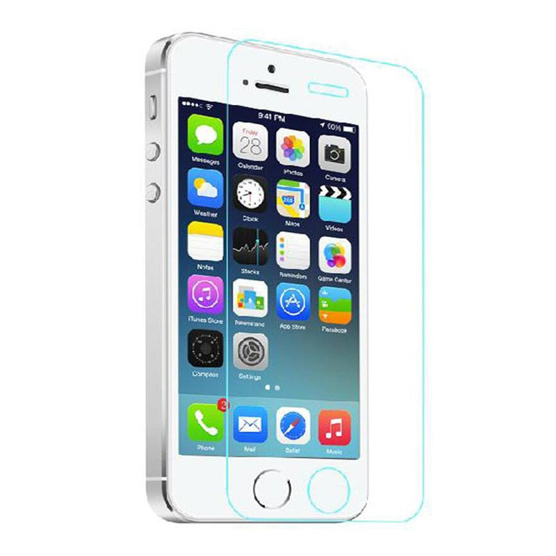 various colors 3a6e7 878a6 Tempered Glass Screen Covers for iPhone 5,5s,6,6s,7,7+,8,X – Time ...