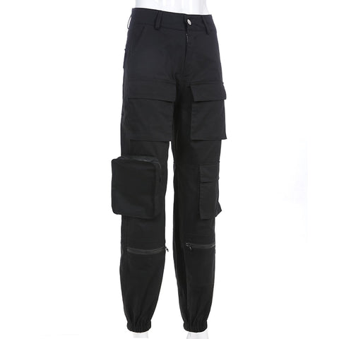 Women's Black Cargo Pants + Superior Style Cargo Pants+ That Takes Your Look From Zero To Hero!