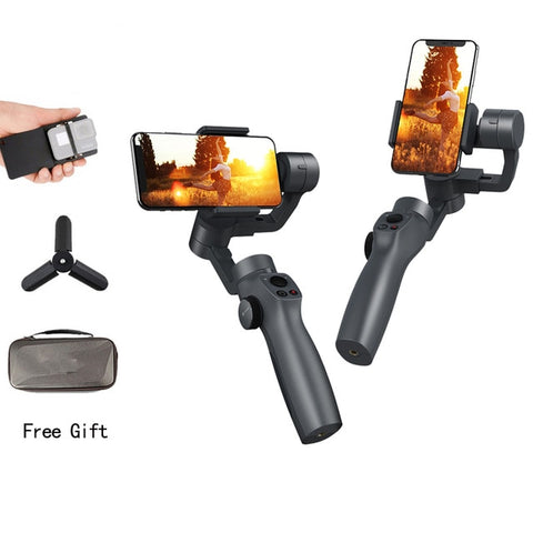Fun Snap Capture Two- Three Axis Phone Handle Gimbal Stabilizer- Steadicam For Smartphones
