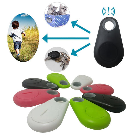 GPS Tracker Child, Pet, Bag, Wallet, Key Finder & Phone- Anti-Lost Theft Device- Alarm- Bluetooth Remote