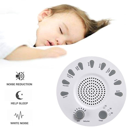 Portable Noise Sound Reduction Machine-Baby Sleep Therapy Regulator-Sound Sleeping Soothers Machine