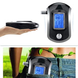Professional Digital Breathalyzer+ Alcohol Tester+ 5 Pcs Mouthpieces Breath Analyzer+ Large Digital LCD Display