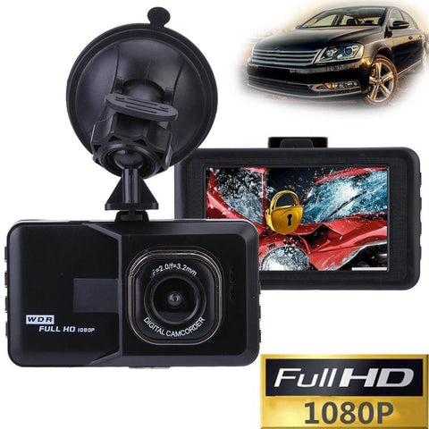 1080P Car Dash Camera + Records Everything While You Drive