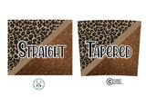 20 oz Skinny Tumbler Design Template- Leopard PNG Bundle