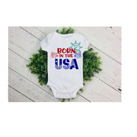 Born in The USA 4th of July SVG