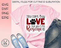 Dog rescue SVG
