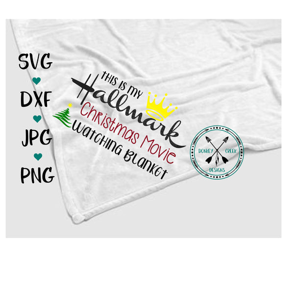 Hallmark Christmas Blanket Shirt SVG