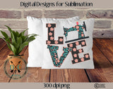 Sewing Love Sublimation Design