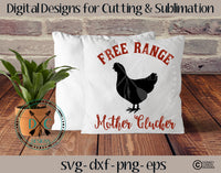 Free Range Chicken SVG