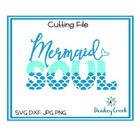 Mermaid Soul SVG