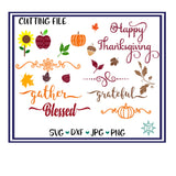 Autumn Fall SVG bundle