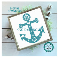 Fancy Anchor SVG