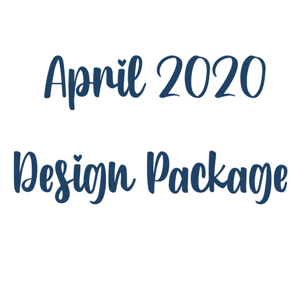 April 2020 Design Package