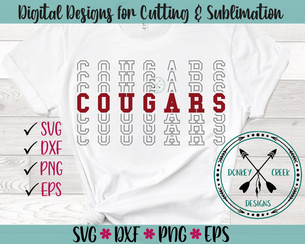 Cougars SVG